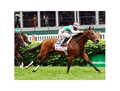 "Aviate won the Distaff Turf Mile (gr. IIT) in May at Churchill Downs.<br><a target=""blank"" href=""http://www.bloodhorse.com/horse-racing/photo-store?ref=http%3A%2F%2Fpictopia.com%2Fperl%2Fgal%3Fprovider_id%3D368%26ptp_photo_id%3D9517342%26ref%3Dstory"">Order This Photo</a>"