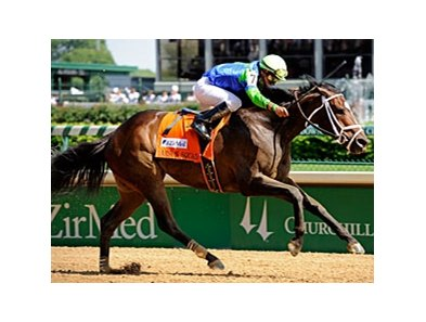 "Arson Squad power home in the Alysheba Stakes.<br><a target=""blank"" href=""http://www.bloodhorse.com/horse-racing/photo-store?ref=http%3A%2F%2Fpictopia.com%2Fperl%2Fgal%3Fprovider_id%3D368%26ptp_photo_id%3D8937241%26ref%3Dstory"">Order This Photo</a>"
