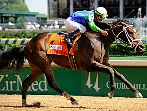 Arson Squad wins the 2010 Alysheba.