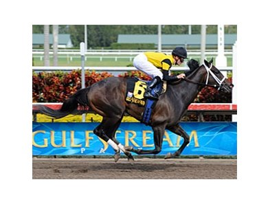 "Justwhistledixie is scheduled to make her next start in the Kentucky Oaks.<br><a target=""blank"" href=""http://www.bloodhorse.com/horse-racing/photo-store?ref=http%3A%2F%2Fpictopia.com%2Fperl%2Fgal%3Fprovider_id%3D368%26ptp_photo_id%3D7956370%26ref%3Dstory"">Order This Photo</a>"