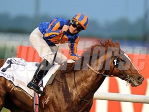 Daddy Long Legs wins the 2012 UAE Derby.