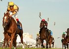 Wise Dan streaks away from the field to win the Woodbine Mile.