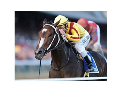 "Rachel Alexandra faces 4 in the Fleur de Lis Handicap.<br><a target=""blank"" href=""http://www.bloodhorse.com/horse-racing/photo-store?ref=http%3A%2F%2Fpictopia.com%2Fperl%2Fgal%3Fprovider_id%3D368%26ptp_photo_id%3D8459939%26ref%3Dstory"">Order This Photo</a>"