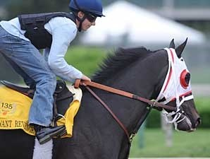 I Want Revenge works at Churchill Downs on April 28