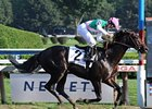 "First Defence cruises in the Forego.<br><a target=""blank"" href=""http://www.bloodhorse.com/horse-racing/photo-store?ref=http%3A%2F%2Fpictopia.com%2Fperl%2Fgal%3Fprovider_id%3D368%26ptp_photo_id%3D5726222%26ref%3Dstory"">Order This Photo</a>"