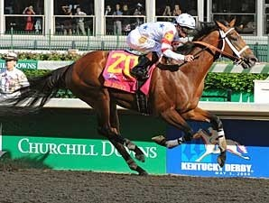 Big Brown cruises to victory in Kentucky Derby 134.