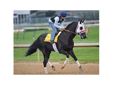 I Want Revenge worked four furlongs April 28 at Churchill Downs.
