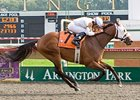 Dixie Band keeps on rolling with a victory in the Arlington-Washington Futurity.