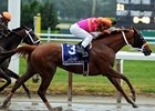 Ruler On Ice wins the Blemont Stakes.