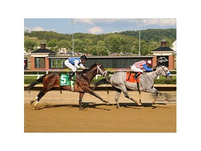 Concord Point leads all the way in the West Virginia Derby.