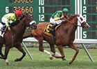 Get Serious won the Oceanport in 2009 and 2010 (shown).