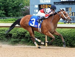 Beat the Blues wins the 2012 Carousel Stakes.