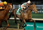 "Ron the Greek is among those expected for the Whitney Invitational Handicap on Aug. 4.<br><a target=""blank"" href=""http://photos.bloodhorse.com/AtTheRaces-1/at-the-races-2012/22274956_jFd5jM#!i=1909883738&k=Bh4RCnx"">Order This Photo</a>"