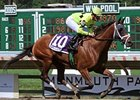 Quiet Giant won the Lady's Secret at Monmouth by more than 6 lengths.