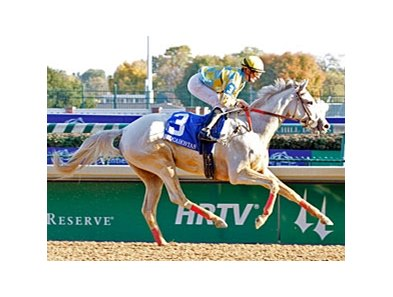 Dancinginherdreams wins the Pocahontas S.