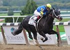 "Shanghai Bobby sails home in the Champagne Stakes.<br><a target=""blank"" href=""http://photos.bloodhorse.com/AtTheRaces-1/at-the-races-2012/22274956_jFd5jM#!i=2132606386&k=pXH95gj"">Order This Photo</a>"