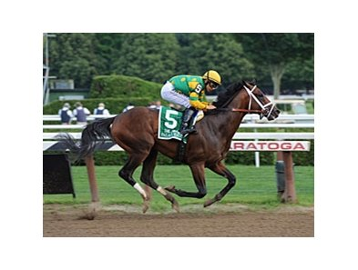 "Palace Malice sails to victory in the Jim Dandy.<br><a target=""blank"" href=""http://photos.bloodhorse.com/AtTheRaces-1/at-the-races-2013/27257665_QgCqdh#!i=2660653353&k=sjM6k4k"">Order This Photo</a>"