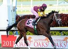 "R Heat Lightning dominates the Gulfstream Oaks.<br><a target=""blank"" href=""http://www.bloodhorse.com/horse-racing/photo-store?ref=http%3A%2F%2Fpictopia.com%2Fperl%2Fgal%3Fprovider_id%3D368%26ptp_photo_id%3D9473439%26ref%3Dstory"">Order This Photo</a>"