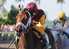 "R Heat Lightning comes into the Gulfstream Oaks off a 7 1/4-length romp in the Davona Dale.<br><a target=""blank"" href=""http://www.bloodhorse.com/horse-racing/photo-store?ref=http%3A%2F%2Fpictopia.com%2Fperl%2Fgal%3Fprovider_id%3D368%26ptp_photo_id%3D9423551%26ref%3Dstory"">Order This Photo</a>"