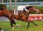 Divine Oath Holds On in McKnight Handicap