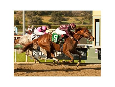 Hear the Ghost catches Flashback late to win the San Felipe.