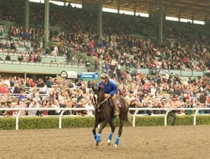 Zenyatta, John Henry Honored on Opening Day