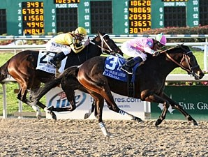Zardana wins the 2010 New Orleans Ladies.