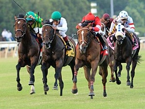 Rahystrada wins the 2011 Colonial Turf Cup.