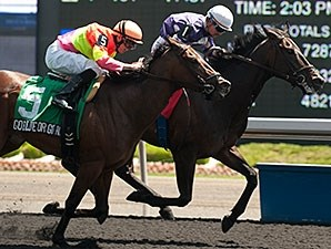 Phil's Dream wins the 2014 Ontario Jockey Club Stakes.