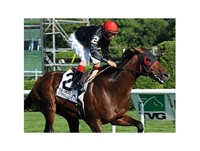 Point of Entry won the Sword Dancer by 4 lengths on Aug. 18.