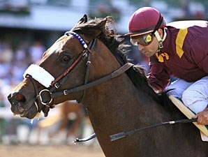 Coal Play wins the 2009 Salvatore Mile.