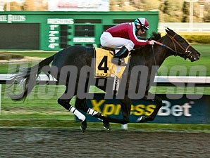 Lady of Fifty wins the 2012 California Oaks.