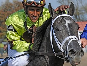Mission Impazible wins the 2010 Louisiana Derby.