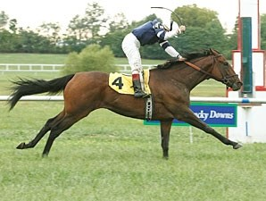Rezif wins the 2010 Kentucky Cup Turf.