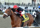 "Dads Caps will break from the outside in the expected field of six in the Toboggan Stakes.<br><a target=""blank"" href=""http://photos.bloodhorse.com/AtTheRaces-1/At-the-Races-2014/35724761_2vdnSX#!i=3162218855&k=bmSKktF"">Order This Photo</a>"
