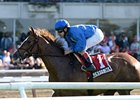 "Hessonite won the Beaugay Stakes on May 4.<br><a target=""blank"" href=""http://photos.bloodhorse.com/AtTheRaces-1/at-the-races-2013/27257665_QgCqdh#!i=2493131425&k=XkMc8NZ"">Order This Photo</a>"