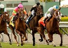 "Cambina leads them home in the Providencia.<br><a target=""blank"" href=""http://www.bloodhorse.com/horse-racing/photo-store?ref=http%3A%2F%2Fpictopia.com%2Fperl%2Fgal%3Fprovider_id%3D368%26ptp_photo_id%3D9484272%26ref%3Dstory"">Order This Photo</a>"