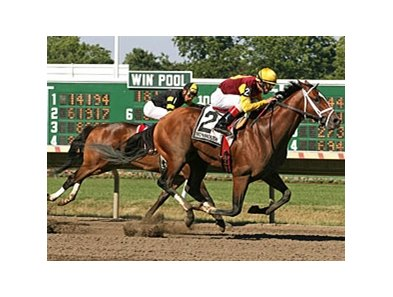 Discreetly Mine won the Jersey Shore on July 4 in his most recent start.