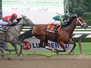 Authenticity wins the 2013 Shuvee.