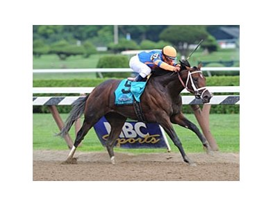 "Stay Thirsty powers home in the Travers Stakes.<br><a target=""blank"" href=""http://www.bloodhorse.com/horse-racing/photo-store?ref=http%3A%2F%2Fpictopia.com%2Fperl%2Fgal%3Fprovider_id%3D368%26ptp_photo_id%3D9648626%26ref%3Dstory"">Order This Photo</a>"