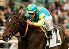 Pioneerof the Nile took the Robert B. Lewis Stakes Feb. 7.