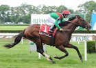 "Sailor's Cap takes the $103,500 Poker Stakes at Belmont Park.<br><a target=""blank"" href=""http://www.bloodhorse.com/horse-racing/photo-store?ref=http%3A%2F%2Fpictopia.com%2Fperl%2Fgal%3Fprovider_id%3D368%26ptp_photo_id%3D8235558%26ref%3Dstory"">Order This Photo</a>"