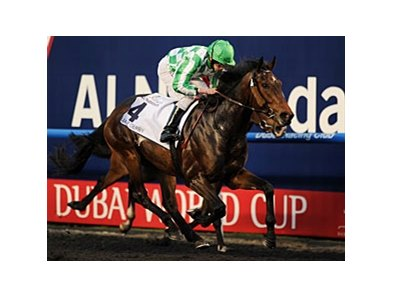 "Lines of Battle takes the UAE Derby.<br><a target=""blank"" href=""http://photos.bloodhorse.com/AtTheRaces-1/at-the-races-2013/27257665_QgCqdh#!i=2432681471&k=44nJ9qk"">Order This Photo</a>"