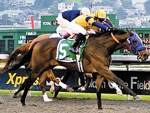 Ranger Heartley wins the 2010 California Derby