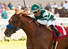 Daddy D T won the Oak Tree Juvenile Turf Stakes at Del Mar on Sept. 3.