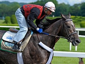 Unstoppable U at Belmont Park 6/5/2012