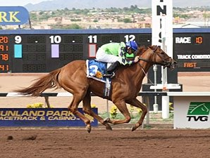 Red Lead Fires Best Shot in Sunland Handicap