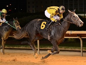 Flirting Song wins the 2012 Tri-State Futurity.