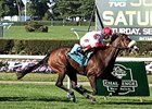 "Stephanie's Kitten won the 2014 Flower Bowl.<br><a target=""blank"" href=""http://photos.bloodhorse.com/AtTheRaces-1/At-the-Races-2014/i-2Dh7WC3"">Order This Photo</a>"