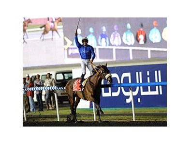 Monterosso won this year's Dubai World Cup.
